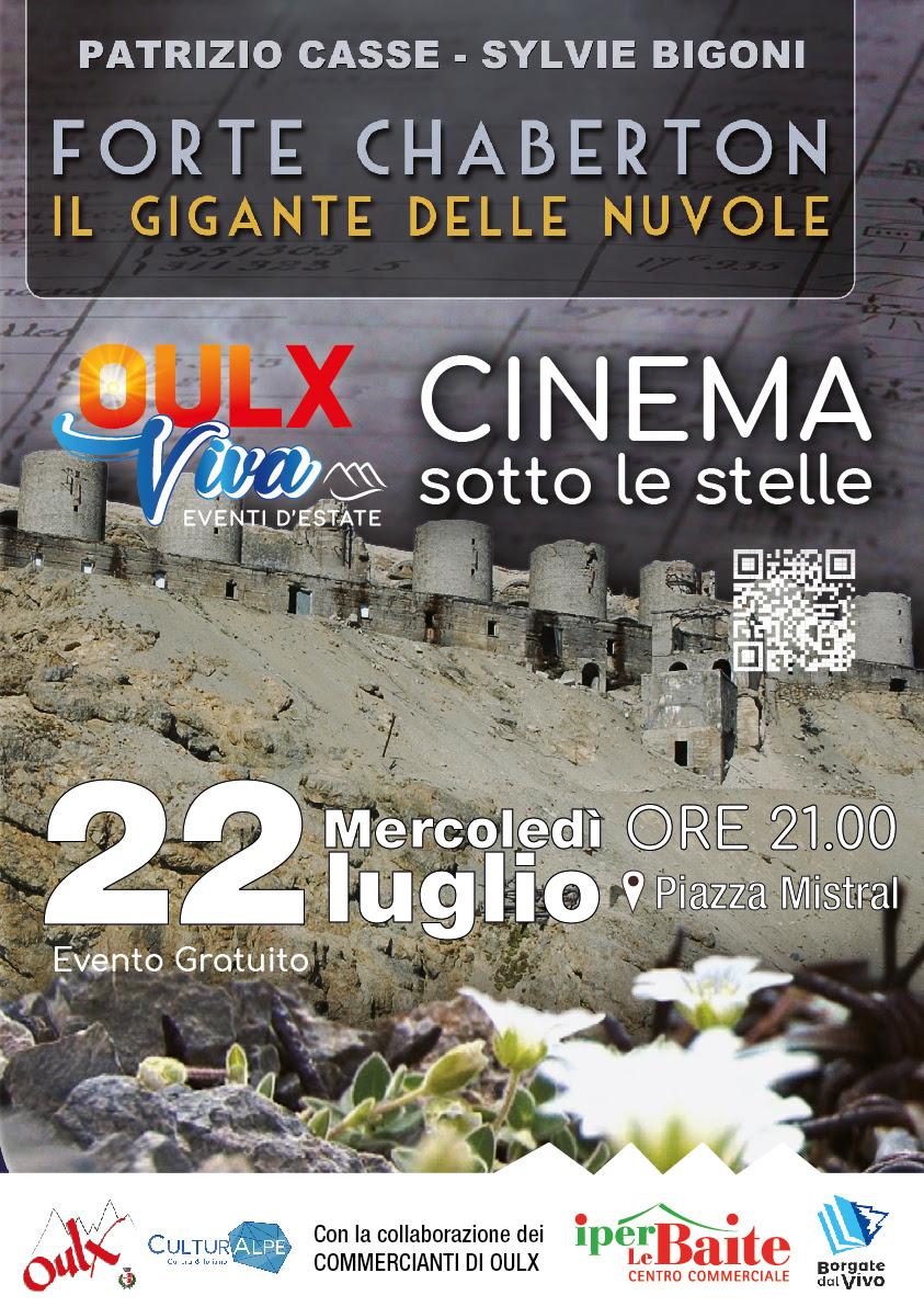 Cinema sotto le stelle: 'Forte Chaberton, Il gigante delle nuvole'