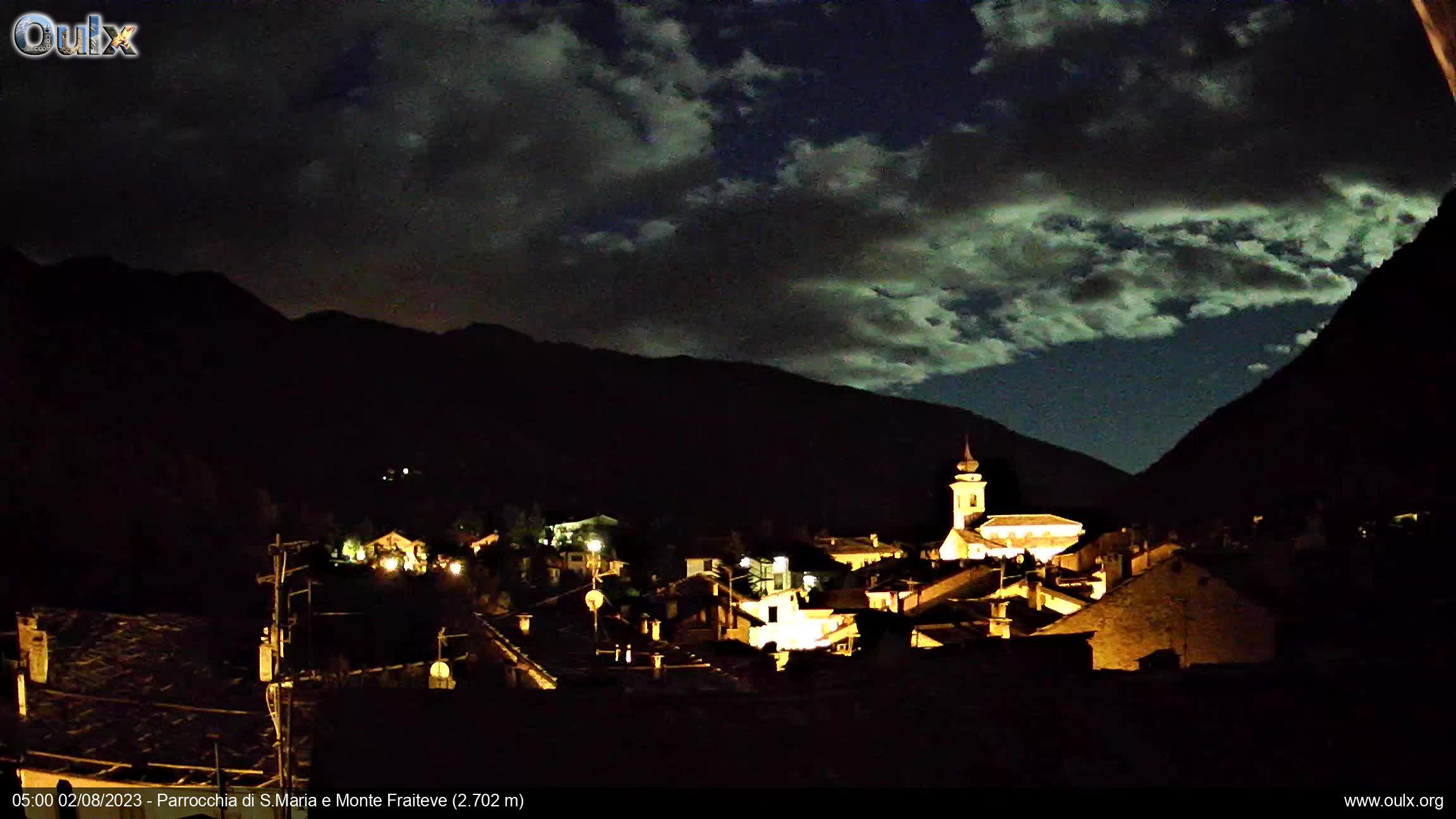 Parrocchia di S.Maria e Monte Fraiteve (2.702 m)